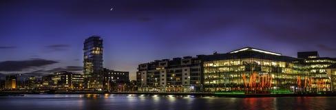 Storslagen kanalfyrkant, Dublin Royaltyfria Foton