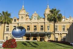Storslagen kasino de Monte - carlo, Monaco Royaltyfria Bilder