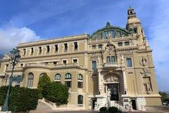 Storslagen kasino i Monte - carlo, royaltyfri fotografi