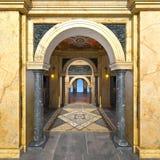 Storslagen korridor royaltyfri bild