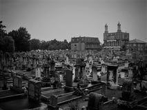 Storslagen kyrkogård Royaltyfria Bilder