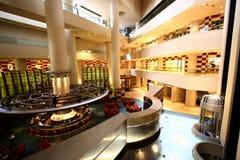 storslagen lobby arkivbild