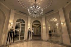 storslagen lobby för foajé arkivbilder