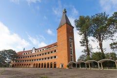 Storslagen Lycée Yersin för Petit Lycée Dalat skola skola Arkivbilder