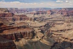 storslagen majestätisk utsikt för kanjon Royaltyfri Bild