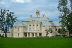 Storslagen (Menshikov) slott Royaltyfri Bild