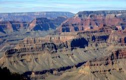 storslagen mohavepunkt för kanjon Arkivfoto