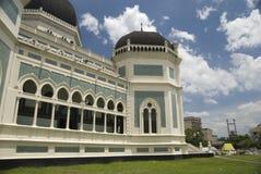 storslagen moské Arkivfoto