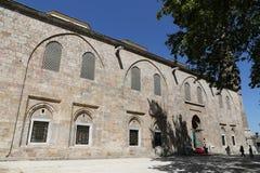 Storslagen moské av Bursa i Turkiet Royaltyfri Foto