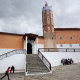 Storslagen moské i Chefchaouen, Marocko Fotografering för Bildbyråer