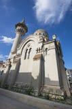 Storslagen moské i Constanta Arkivfoton