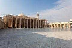 Storslagen moské i Kuwait City Royaltyfria Foton