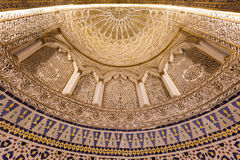 Storslagen moské i Kuwait City Royaltyfri Bild