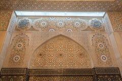 Storslagen moské i Kuwait City Arkivfoton