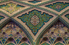 Storslagen moské - Muscat - Oman royaltyfri bild