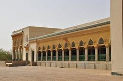 storslagen moské niamey för arkitektur arkivbilder