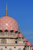 storslagen moské putrajaya arkivbilder