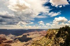 storslagen nationalpark USA för arizona kanjon Arkivfoton
