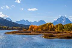 storslagen nationalparkteton Royaltyfri Fotografi