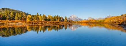 storslagen nationalparkteton Arkivbilder