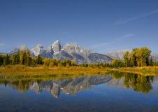 storslagen nationalparkteton Arkivfoto