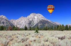 storslagen nationalparkteton fotografering för bildbyråer