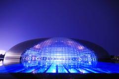 storslagen nationell teater för porslin royaltyfri fotografi