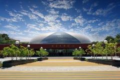 storslagen nationell teater för porslin fotografering för bildbyråer