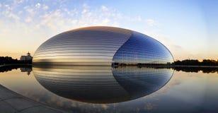 storslagen nationell theatre för porslin Royaltyfria Bilder