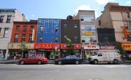 storslagen ny gata york för stad Arkivbild