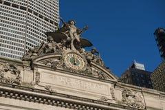 storslagen ny station york för central stad Royaltyfri Fotografi