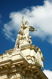 Storslagen Palais staty arkivfoton