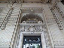 Storslagen Palais vägg Deco Arkivbilder