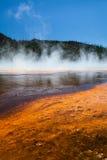 Storslagen prismatisk vår Yellowstone Arkivfoton