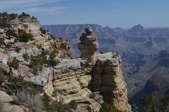 storslagen skulptur för kanjon Arkivfoton