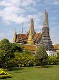 Storslagen slott av bangkok Fotografering för Bildbyråer