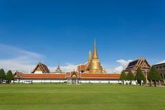 Storslagen slott Bangkok Arkivbilder
