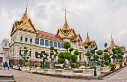 Storslagen slott, bangkok Royaltyfri Foto