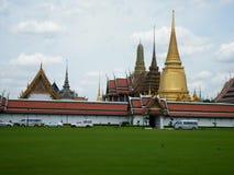 Storslagen slott - Bangkok Royaltyfri Fotografi