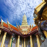 Storslagen slott Bangkok Royaltyfri Foto