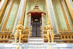 Storslagen slott - Bangkok, Thailand Arkivbilder