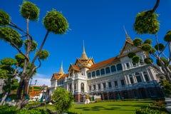 Storslagen slott bangkok, THAILAND Royaltyfri Fotografi
