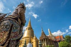 Storslagen slott Bangkok - Thailand Fotografering för Bildbyråer