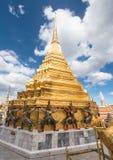 Storslagen slott Bangkok - Thailand Royaltyfri Foto