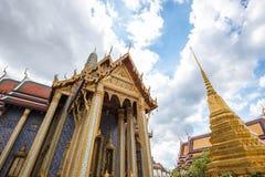 Storslagen slott Bangkok - Thailand Royaltyfria Foton