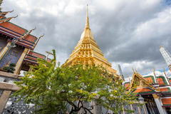 Storslagen slott Bangkok - Thailand Royaltyfria Bilder