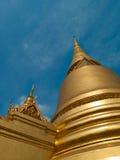 Storslagen slott och Wat Phra Kaew område, Bangkok Arkivfoton