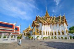 Storslagen slott på Bangkok, Thailand Fotografering för Bildbyråer