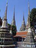 storslagen slott thailand arkivfoto