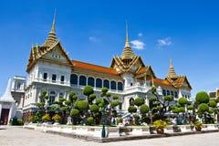 storslagen slott thailand Arkivbild